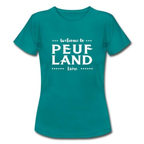 Peuf Land 38 - Isère - White - T-shirt Femme