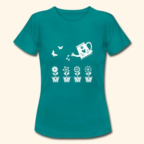 Regar las plantas - Camiseta mujer