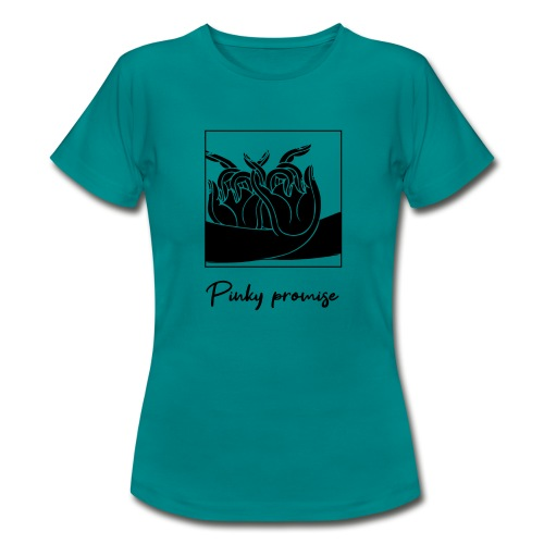 Pinky promise - T-shirt Femme
