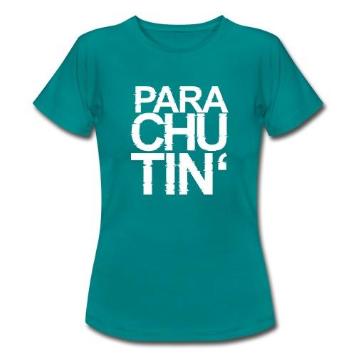 Parachute Glitch v2 - Frauen T-Shirt