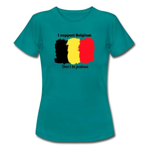 3SB - Edition limitée - I support Belgium - T-shirt Femme