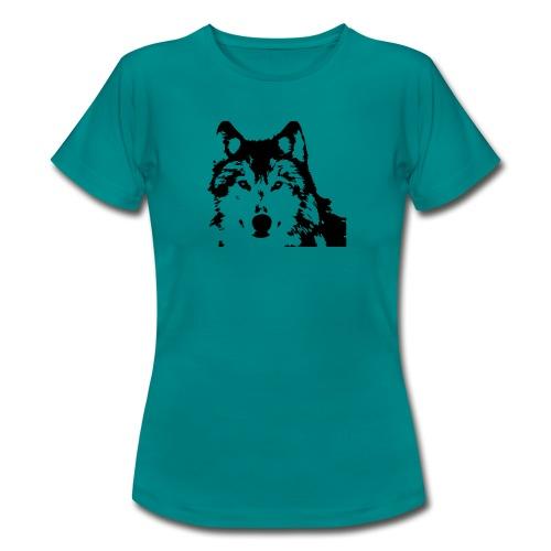 Wolf - Loup - Husky - Frauen T-Shirt