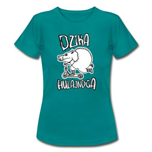 dzik na hulajnodze - Koszulka damska