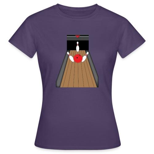 La piste de Bowling - T-shirt Femme