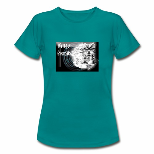 Buho mind freak logo - Camiseta mujer