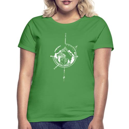 Cabin in the mountains - Vrouwen T-shirt