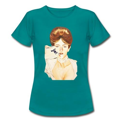 Women Motiv - JA! - Frauen T-Shirt