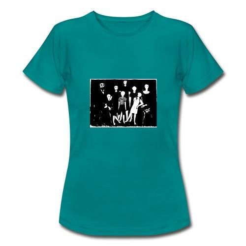 Familienbild - Frauen T-Shirt