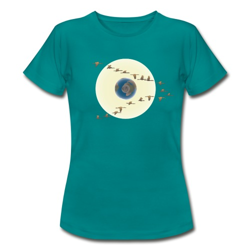 190426 The Silent Sun - Camiseta mujer