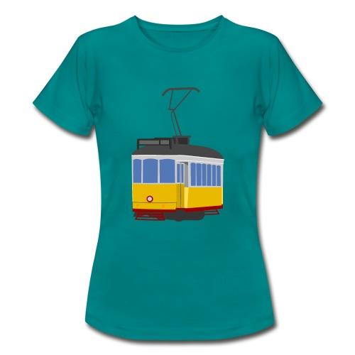 Tram car yellow - Women's T-Shirt