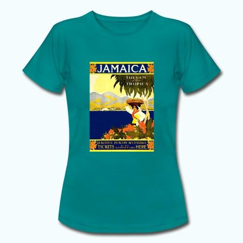 Jamaica Vintage Travel Poster - Women's T-Shirt