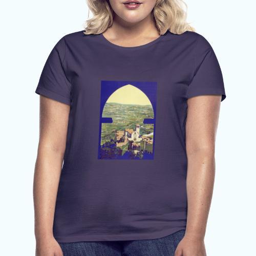 Tuscany vintage travel poster - Women's T-Shirt
