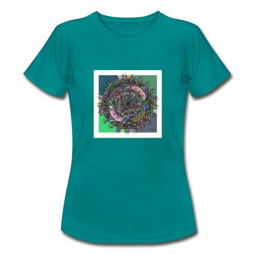 WorldAround 150220 ds. A + - Women's T-Shirt