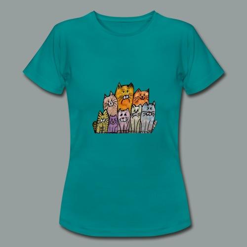 Katzenbande - Frauen T-Shirt