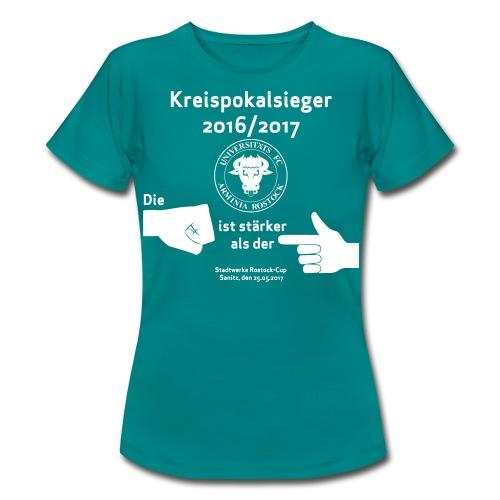 Pokalsieger 16/17 - Frauen T-Shirt