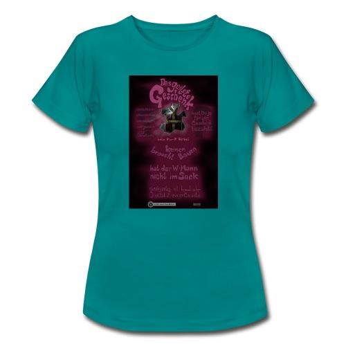 Design Das geilste Geschenk B Seite - Frauen T-Shirt