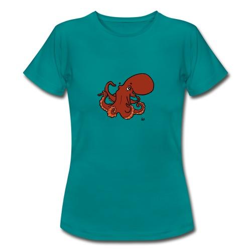 Pieuvre géante du Pacifique - T-shirt Femme