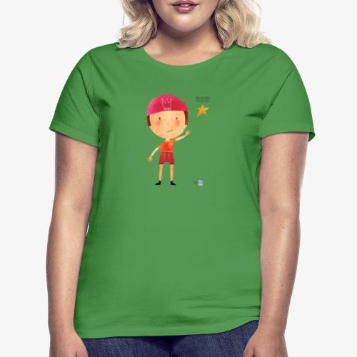 Maglietta mascotte Remo di Magical Dots Jr - Maglietta da donna