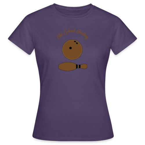 Old School Bowling - T-shirt Femme