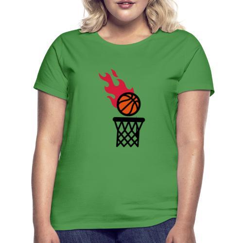 fire basketball - Women's T-Shirt