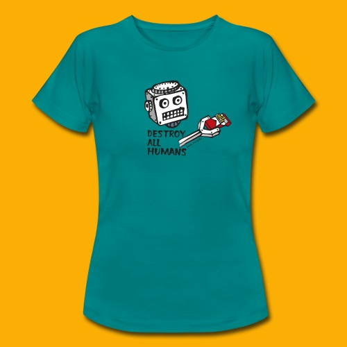 Dat Robot: Destroy Series Smoking Light - Vrouwen T-shirt