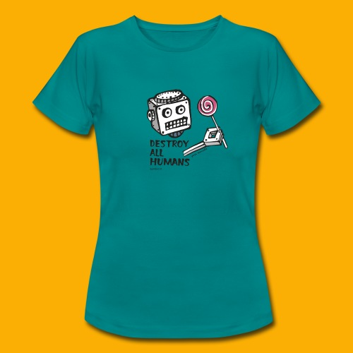Dat Robot: Destroy Series Candy Light - Vrouwen T-shirt