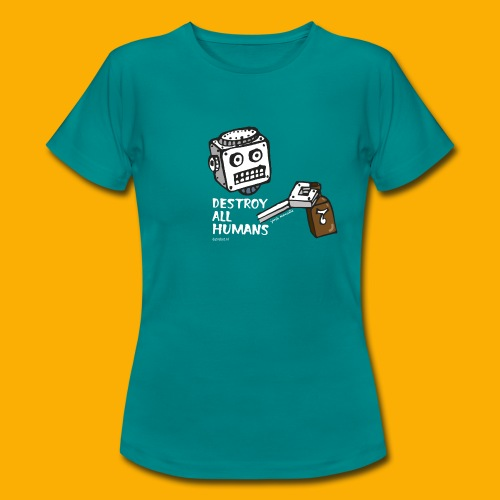 Dat Robot: Destroy Series Booze Light - Vrouwen T-shirt