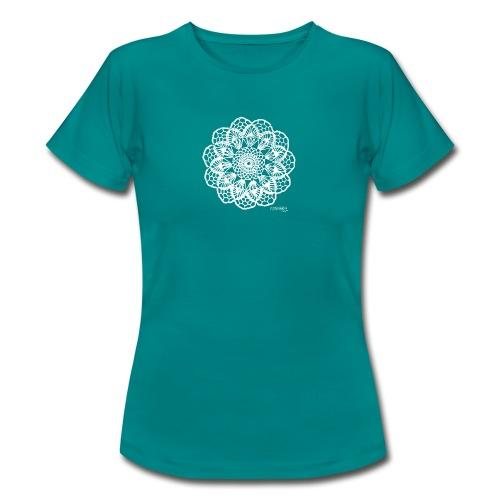 Granny´s Flower, valkoinen - Naisten t-paita