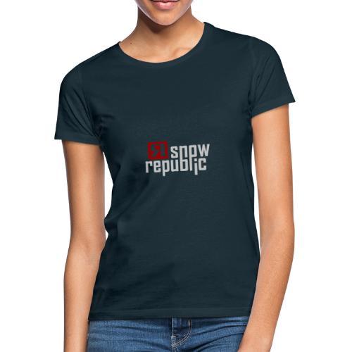 SNOWREPUBLIC 2020 - Vrouwen T-shirt