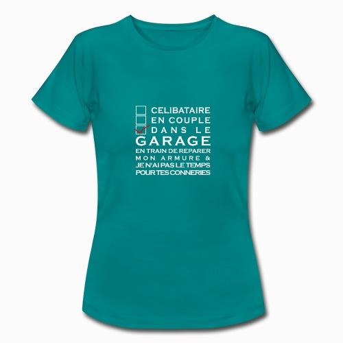 Celibataire en couple etc - T-shirt Femme