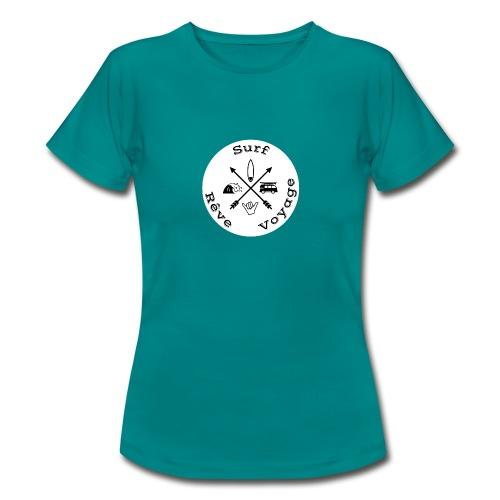 Surf rêve voyage white - T-shirt Femme