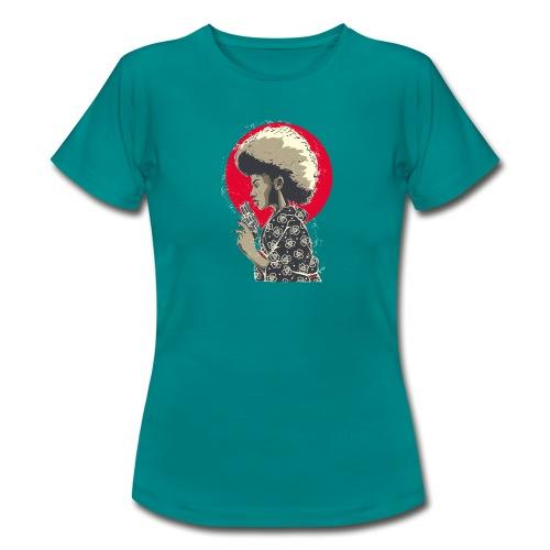 Afro Gun - Maglietta da donna