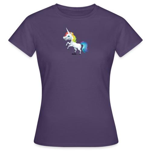 Regenboog eenhoorn - Vrouwen T-shirt