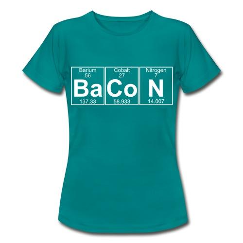 Ba-Co-N (bacon) - Full - Women's T-Shirt
