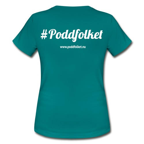 poddfolket - T-shirt dam