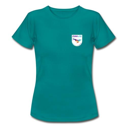 Logo 4 white gif - Frauen T-Shirt