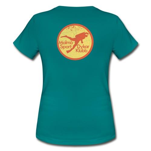 MSDK Logo Vintage Worn - T-shirt dam