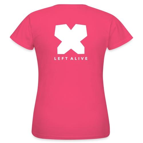 Logo Left Alive Wit - Vrouwen T-shirt