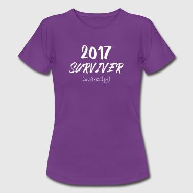 2017 Surviver (Scarely) - Frauen T-Shirt