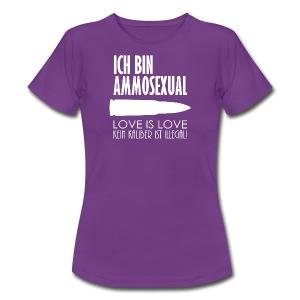 Ammosexual (weiß) - Frauen T-Shirt