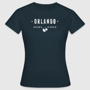 Orlando  - T-skjorte for kvinner