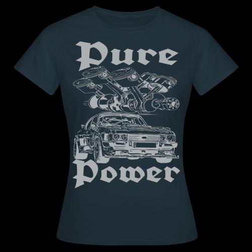 Pure Power V6 Grau - Frauen T-Shirt