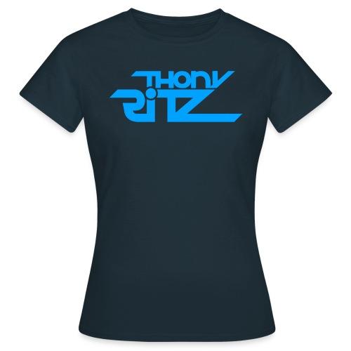 TR Logo Blue - T-shirt Femme