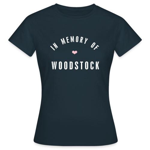 In MEmory of woodstock - Frauen T-Shirt