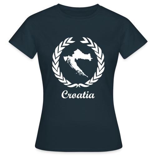 Connect ExYu Croatia White Edition - Frauen T-Shirt