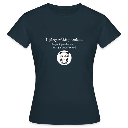 Python Programming playing with pandas - Women's T-Shirt