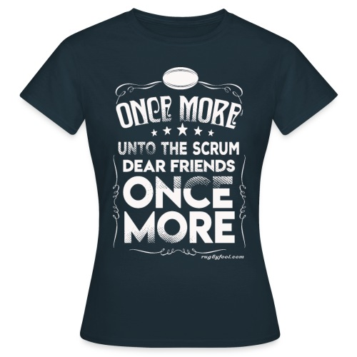 Once More White On Transparent - Women's T-Shirt