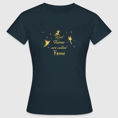 fées de fée fée prénom nom Fenna - T-shirt Femme
