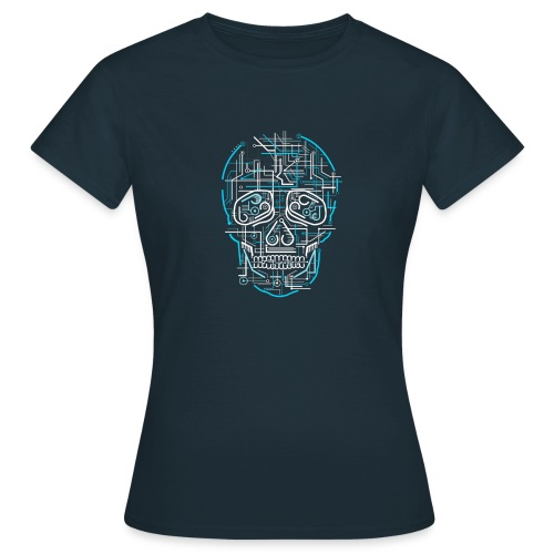 electric skull tshirt ✅ - Frauen T-Shirt