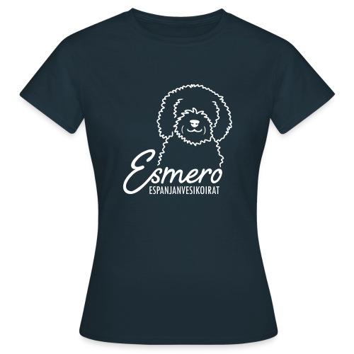 Esmero-kennel tuotteita - Naisten t-paita